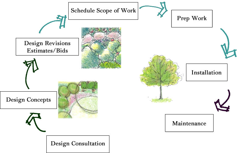 The Process of Landscape Designs
